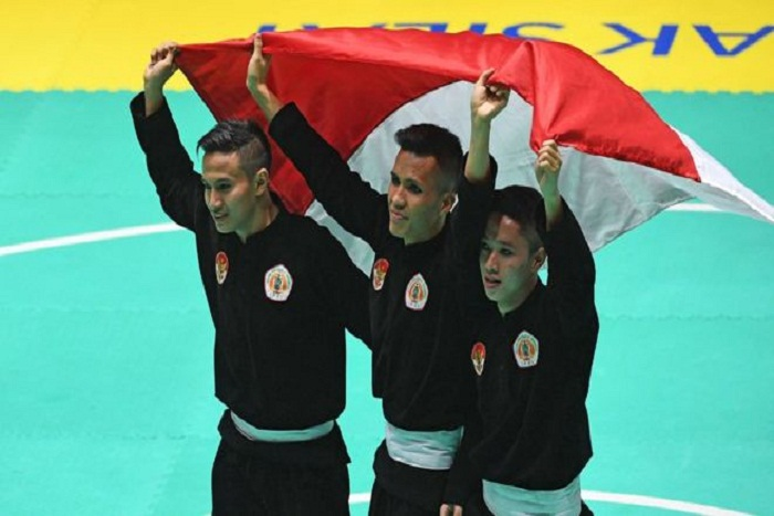 Pesilat Malaysia Ngamuk Kalah di Final Lawan Pesilat Indonesia Asian Games 2018