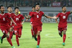 Jebred..Jebred..Jebred.. 4 Gol Timnas U-16 ke Gawang Thailand Jadikan Indonesia Juara