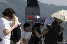 Gelombang Panas Korea Selatan Membunuh 4 Orang, Mengopname Ratusan Orang
