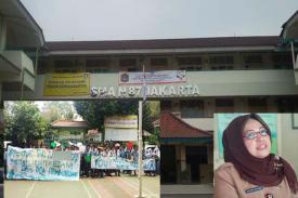 Guru Ditangkap dan Dihina,  Siswa Bertindak
