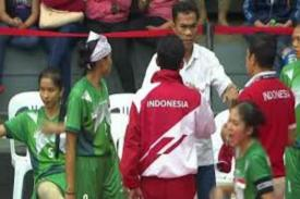 Kecewa, Tim Sepak Takraw Indonesia Dicurangi Di Sea Games