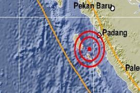 Hari Ini, Kepulauan Mentawai Kembali Diguncang Gempa