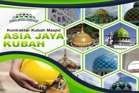 Jenis-jenis Kubah Masjid untuk Memperindah Bangunan Masjid