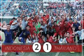 Timnas Garuda U-22 Juara Piala AFF, Kandaskan Thailand Skor Tipis 2-1