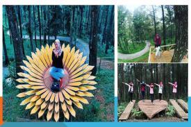 Lokawisata Sikembang Park Surganya Kaum Muda Pemburu Swafoto