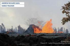 Gunung Berapi Hawaii Menembakkan Lava 300 Kaki ke Udara