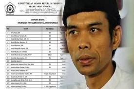 Tidak Masuk 200 Nama Mubaligh Rekomendasi Kemenag, ini Kata Ustaz Abdul Somad