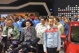 Saat Ditanyai Seputar Nasib Mobil Esemka, Begini Kata Jokowi