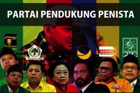 Partai Pendukung Penista Agama Islam Dibelakang Jokowi-Maruf Amin