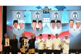 4 Pasangan Calon Gubernur dan Wakil Gubernur Jabar Bersama-Sama Wujudkan Pilkada Damai dan Aman