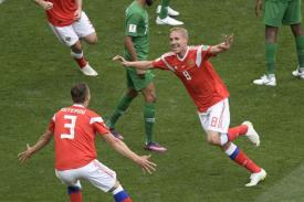 Tuan Rumah Rusia bantai Arab Saudi 5 - 0 Partai Pembuka Piala Dunia 2018