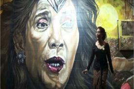 Wow! Mural 'Wonder Women' versi Menteri Susi
