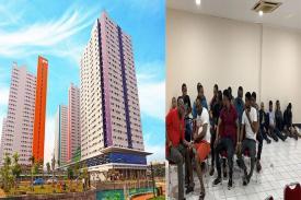 Imigran Gelap dari Afrika didapati Menginap di Apartemen Green Pramuka City