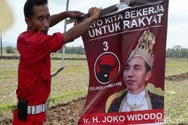 """Poster dan Stiker """"Raja Jokowi"""" di Jawa Tengah Dianggap PDIP Model Kampanye Hitam"""