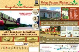 Rumah Subsidi dengan Lokasi Strategis dan Nyaman juga Asri