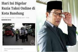 Transportasi Online Bandung dapat Dukungan Masyarakat Lewat Petisi
