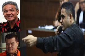 Video Nazaruddin: Ganjar Pranowo Tolak US$150 Ribu dan Minta Jatah US$500 Ribu
