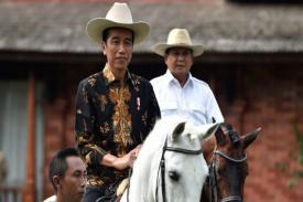 Hasili Survei Litbang Kompas: Eletakbilitas Jokowi 55.9 Persen dan Prabowo 14.1 Persen