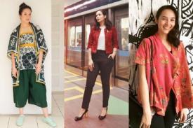 Tampil Trendy dengan Pakaian Batik Modern