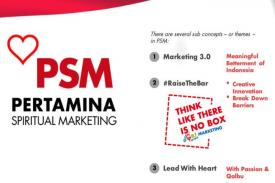 pertamina spiritual marketing