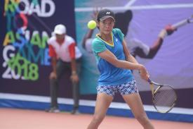 Petenis Muda M. Rifky Fitriadi Borong Juara Event Tenis Road To Asian Games 2019