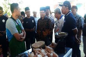 Dicanangkan Sejak Lama, Akhirnya Konsep Pasar Syariah mulai Diterapkan di Cianjur