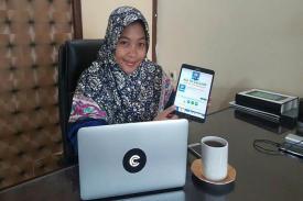 Aplikasi Chatting Sekelas WhatsApp Berhasil diciptakan Gadis Asal Kebumen