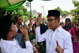 Ridwan Kamil : Target 60 Persen Suara dari Bandung Raya