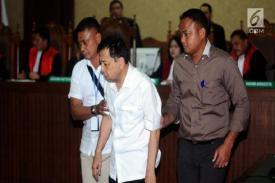 Terdakwa Kasus E-Ktp Diancam Penjara Seumur Hidup